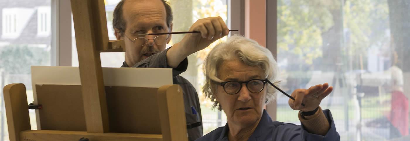Schildersleraar Peter van den Borne