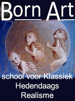 Born-art, school voor Klassiek Modern Realisme (fijnschilderen) | Brabant